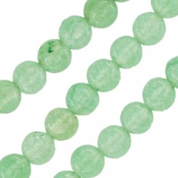 Bola Semipreciosa Jade 4mm (~92pcs/tira)