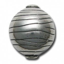 Bola Acrílica Metalizada CCB Rallada 37x33mm