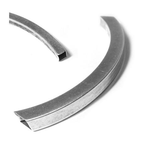 Tubo de Metal Latón Curvado 10x10x113mm  (Ø 9x7mm)