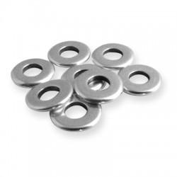 Rondel de Metal Latón 9x1.4mm (Ø 4mm)