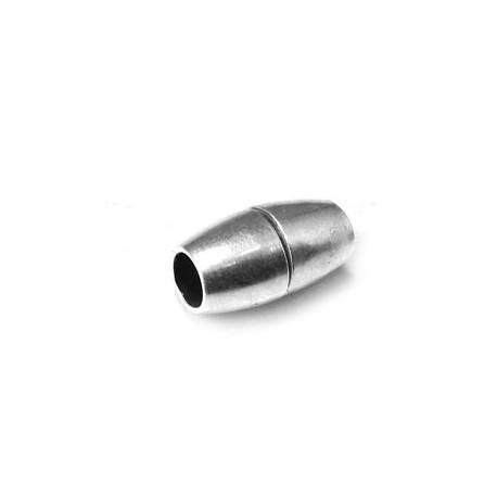 Cierre Magnético de Metal Latón Ovalado 9x8mm (Ø 5mm)