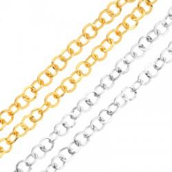 Cadena de Metal Acero Redonda 7,6mm