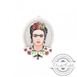 Colgante de Metacrilato Frida Kahlo 37x47mm