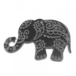 Colgante de Metacrilato Elefante 60x37mm (grosor 3mm)