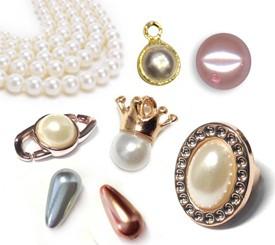 Abalorios y Perlas Acrílicas ABS